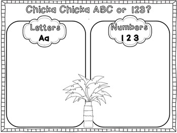 Chicka Chicka Boom Boom Math and Literacy!