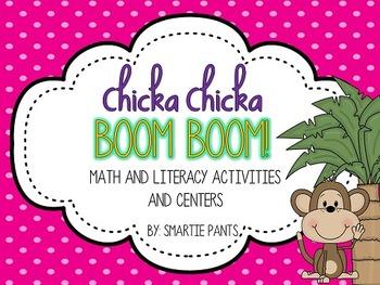 Chicka Chicka Boom Boom Math and Literacy!