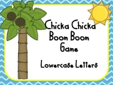 Chicka Chicka Boom Boom Lowercase Letters