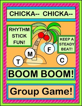 """""""Chicka Chicka Boom Boom"""" - Book Companion with An ACTIVE Game!"""