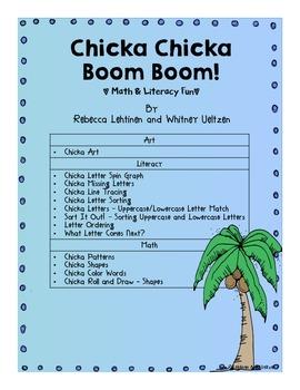 Chicka Chicka Boom Boom! {Math & Literacy Fun!}