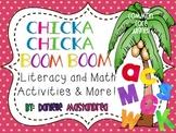 Chicka Chicka Boom Boom Math, Literacy & More Unit {Common Core Aligned}