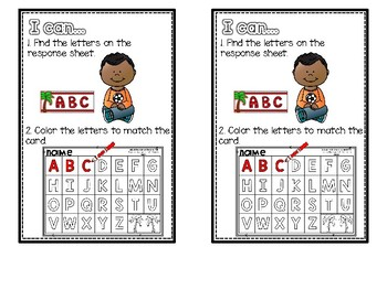 Chicka Chicka Boom Boom Themed Math and Literacy Centers for Kindergarten