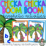 Chicka Chicka Boom Boom Mats  - Magnetic Letter Activities