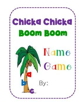 Chicka Chicka Boom Boom Name Game Wris ting