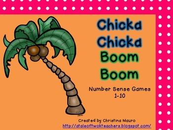 Chicka Chicka Boom Boom - Number Sense Games 1 - 10