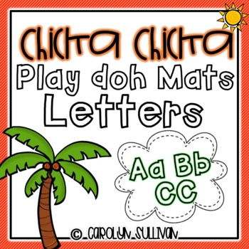 Chicka Chicka Boom Boom Play Doh Mats- Letters