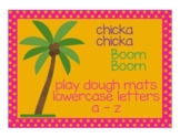 Chicka Chicka Boom Boom Play Dough Mats - Letters a-z