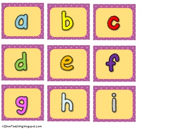 Chicka Chicka Boom Boom Retelling Bracelet and Letter Games