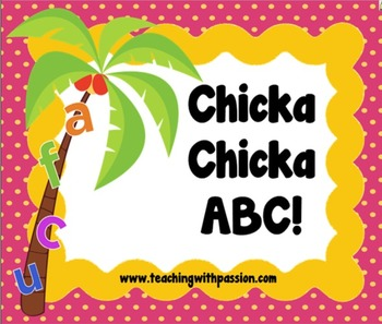 Chicka Chicka Boom Boom-SMART Notebook ABC Activity Pack (Common Core Aligned)