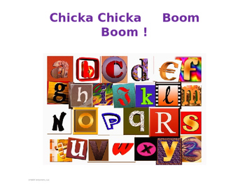 Chicka Chicka Boom Boom STEAM activity