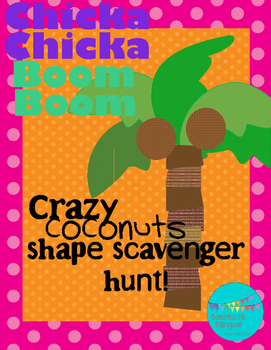 Chicka Chicka Boom Boom Shape Hunt