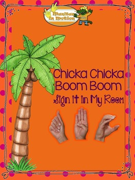 Chicka Chicka Boom Boom – Sign it in My Room - FREEBIE