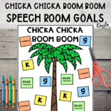 Chicka Chicka Boom Boom - Speech Room!