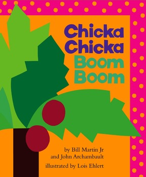 Chicka Chicka Boom Boom - Story Visuals [speech therapy and autism]