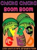 Chicka Chicka Boom Boom Student Names