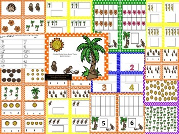 Chicka Chicka Boom Boom Theme Math Centers Counting 1-10
