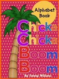 Chicka Chicka Boom Boom Themed Alphabet Practice Book