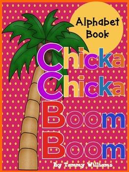 Chicka Chicka Boom Boom Themed Alphabet Practice Book