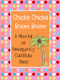 Chicka Chicka Boom Boom Unit or Substitute Plans