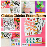 Chicka Chicka Boom Boom activities for Preschool, PreK and Kindergarten