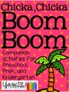 Chicka Chicka Boom Boom activities for Preschool, PreK and