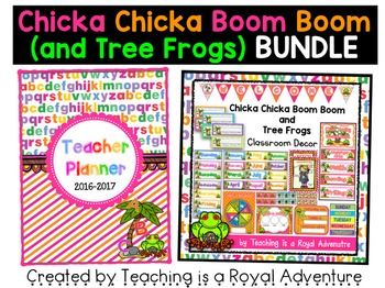 Chicka Chicka Boom Boom (and Tree Frogs) MEGA BUNDLE