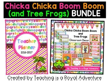 Chicka Chicka Boom Boom (and Tree Frogs) MEGA BUNDLE