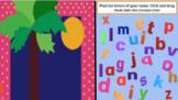 Chicka Chicka Boom Boom- make a name tree interactive virtual activity