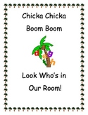 Chicka Chicka Boom Boom name activities