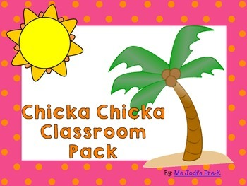 Chicka Chicka Classroom Pack