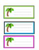 Kindergarten Math Center for use with Chicka Chicka Boom Boom Counting to 20