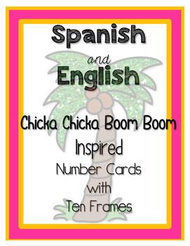 Chicka Chicka Inspired Number Posters 0-20 Dual Language w