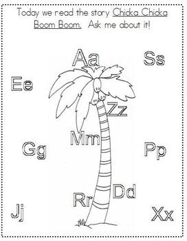 Chicka Chicka L.Arts & Math Activities