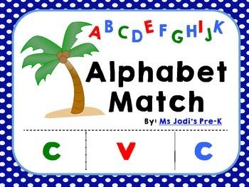 Chicka Chicka Letter Match