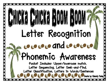 Chicka Chicka Letter Recognition