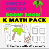 Chicka Chicka Common Core Math Pack: 10 Centers w/ Matchin