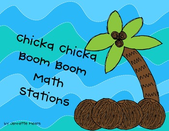 Chicka Chicka Math Stations