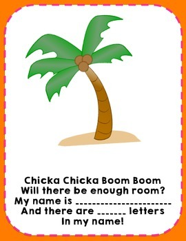 Chicka Chicka Name Activity