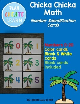 Chicka Chicka Number Identification Cards