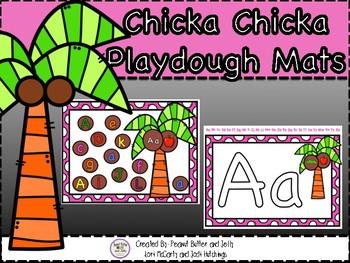 Chicka Chicka Playdough Mats