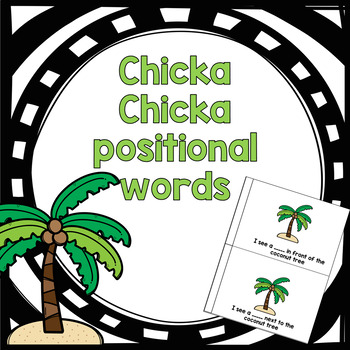 Chicka Chicka Positional Words Early Reader for Primary