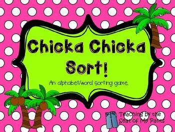 Chicka Chicka Sort