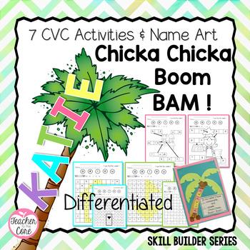Short Vowels, CVC word work, Chicka Chicka