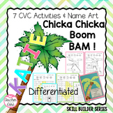 Short Vowels, CVC word work, Chicka Chicka