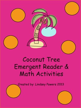ChickaTree Emergent Reader & Math Activities for Kindergarten