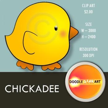 Chickadee Clip Art
