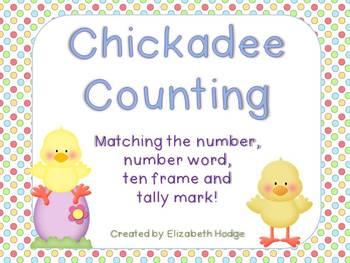 Chickadee Counting (1-20)
