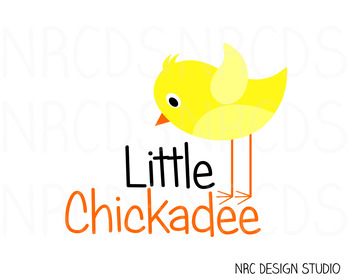 Chickadee SVG Cutting File - Commercial Use SVG, DXF, EPS, png