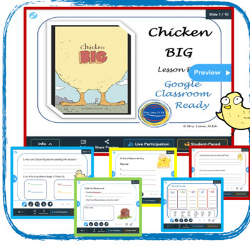 Chicken Big - by Keith Graves - Lesson Plan